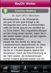 Ansicht Meldungen auf dem iPhone